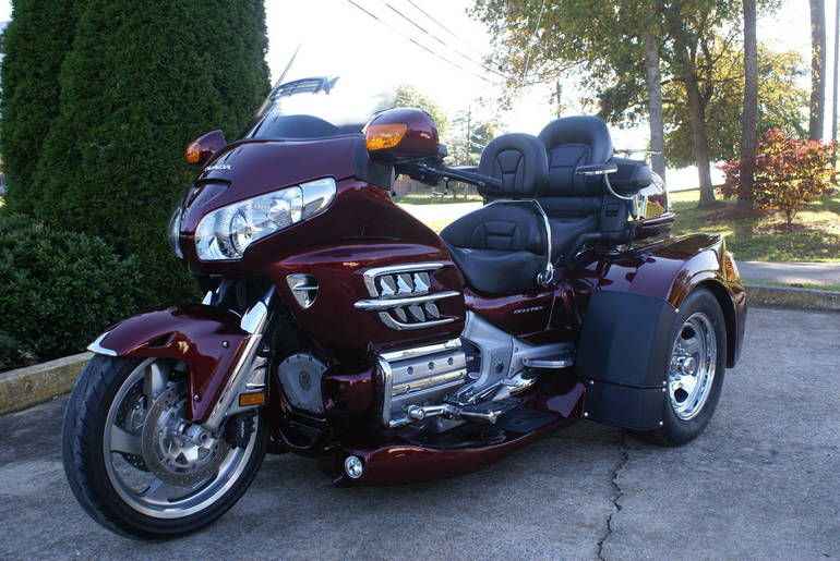 Page 121839, 2009 Honda GL1800 Goldwing Trike, New and ...
