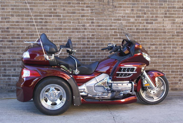 Page 121839 2009 Honda Gl1800 Goldwing Trike New And