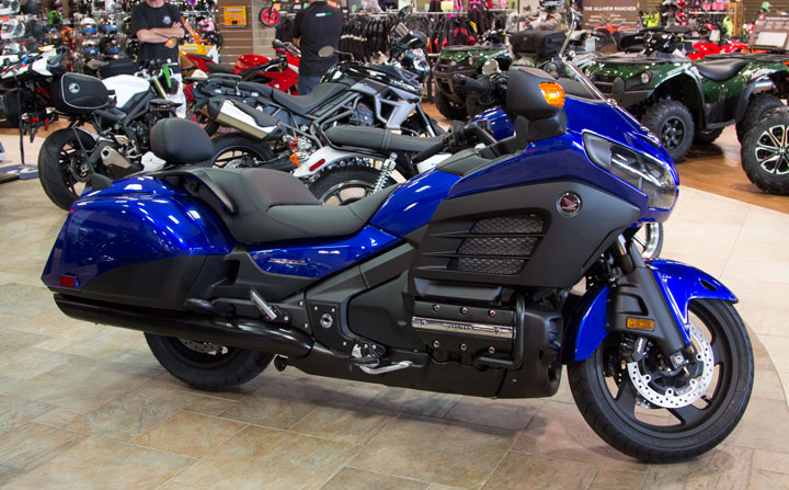 New And Used 2015 Honda GOLD WING F6B DELUXE GL1800BDF Motorcycles Prices  $21,499